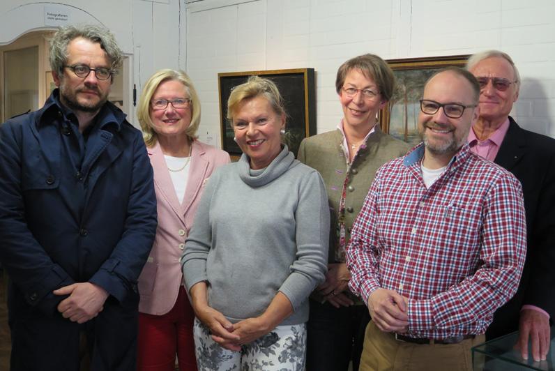 Vorstand der Ringelnatz-Gesellschaft mit Hilmar Klute